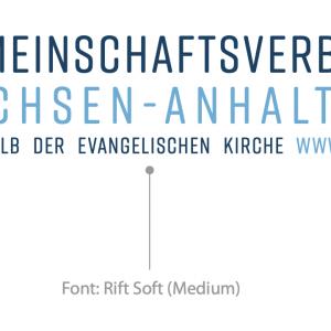 Ausschnitt Logo mit Schriftart